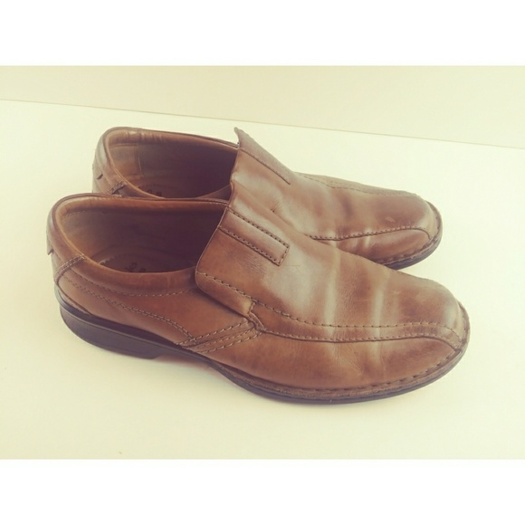 Clarks Collection Ortholite Slip On Loafers M10